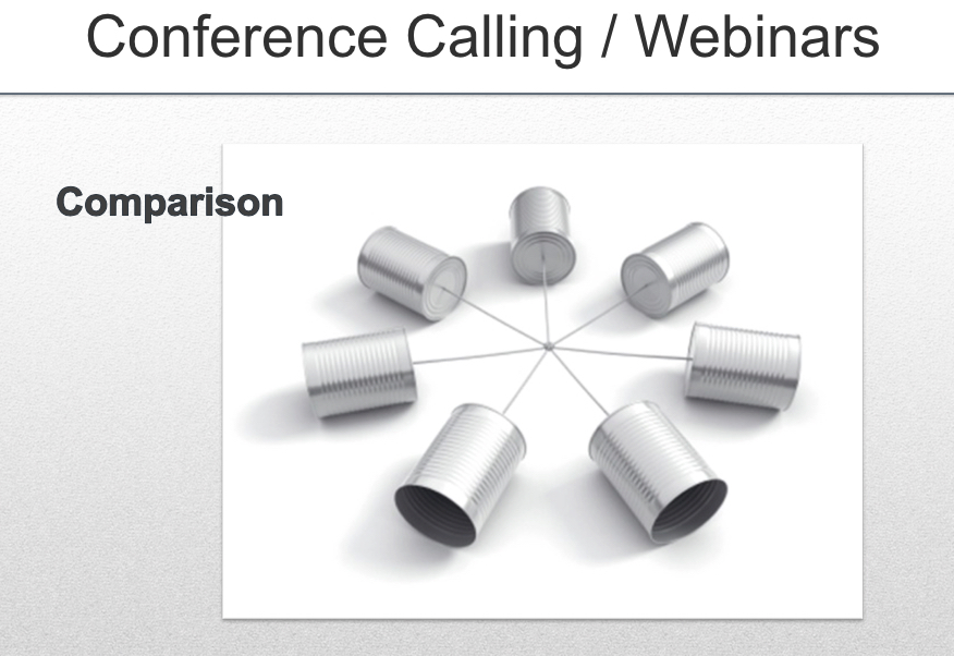 Conf. Call & Webinar Software Compared